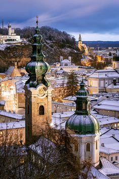 Sunset, Salzburg, Austria by Joe Daniel Price / 500px