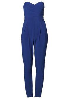 bestil TFNC STALEY - Overall / Jumpsuit /Buksedragter - blå til kr 449,00 (18-11-14). Køb hos Zalando og få gratis levering.