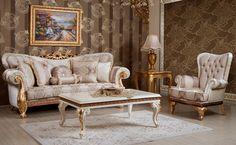 Classic Sofa Sets - Luxury Seat Models - Turkish Sofa Sets