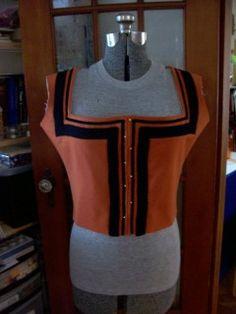 I Saw Something Nasty In The Woodshed - Kampfrau - more progress German Outfit, Landsknecht, Linen Apron, Old Clothes, Velvet Ribbon, Historical Clothing, 16th Century, Black Wool, Renaissance