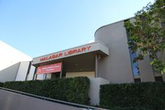 Malabar Community Library Entrance from Anzac Parade - branch of Randwick Library
