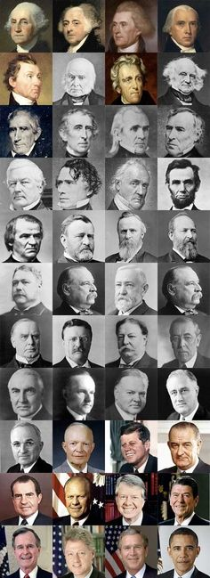 "Presidents of the United States of America. To quote the movie ""American President"" the presidency has everything to do with character. There are some real characters here."