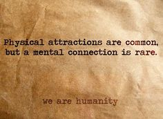 We sure make each other mental
