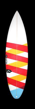 Boards Artwork - Rusty Surfboards