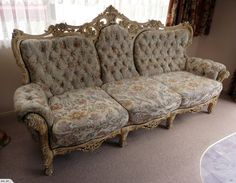 Italian Rococo Lounge Suite - 5 piece including tables | Trade Me