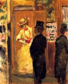 """Pierre #Bonnard """" Après le Théâtre """" 1902"""
