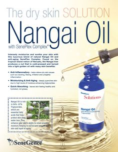 SeneDerm Solutions Nangai Oil