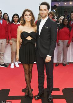 They played married KGB spies on The Americans, and they partners in real-life.And Keri Russell and Matthew Rhys spent some quality time together off-duty at the premiere of Rhys upcoming fl, The Americans Tv Show, Matthews Rhys, New York People, Keri Russell, Looking Dapper, Costume Institute, The Hollywood Reporter, Victoria Dress, International Film Festival