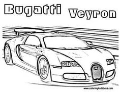 Muscle Car Coloring Pages for Boys - Bing Images
