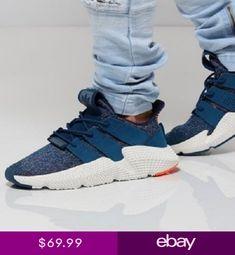 sports shoes 77593 e1c89 MENS ADIDAS ORIGINALS PROPHERE BLUE NIGHT HI RES ORANGE ATHLETIC SHOES  AQ1026. Calzado Deportivo, Zapatillas ...
