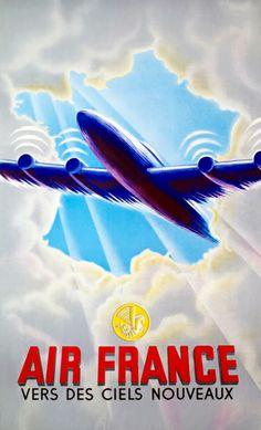 Air France. Hacia nuevos cielos