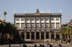 Antiguo Ayuntamiento (Casas Consistoriales) de Las Palmas de Gran Canaria en la Plaza de Santa Ana.