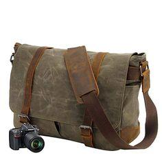 Tolle Tasche!  Elektronik & Foto, Kamera & Foto, Zubehör, Gehäuse & Taschen, Kamera-Taschen, SLR-Taschen Laptop, Vintage, Bags, Mobile Phones, Leather, Amazing, Lens, Grey, Handbags