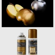 Isn't this cool? Edible golden spray! :) you can use it for thanksgiving turkey or for anything.. Fancy!