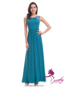 Ever-Pretty Long Evening Ball Gowns Beaded Chiffon Bridesmaid Dresses 08742 Ball Gowns Evening, Chiffon Evening Dresses, Cheap Evening Dresses, Affordable Dresses, Ball Gown Dresses, Dress Up, Formal Dresses, Party Dresses, Ever Pretty