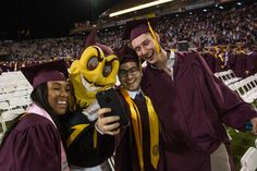 About Sun Devils graduate from Arizona State University this week, turning their tassel and becoming the university's newest alumni. Arizona State University, Turning, Devil, Life Is Good, Tassel, Sun, Life Is Beautiful, Demons, Wood Turning
