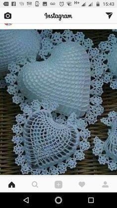 Image gallery – Page 297096906660292611 – Artofit Crochet Butterfly Pattern, Crochet Motif, Crochet Doilies, Crochet Flowers, Crochet Hearts, Crochet Gifts, Diy Crochet, Crochet Baby, Vintage Crochet Patterns