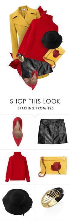 """""""Stay Bright"""" by monazor ❤ liked on Polyvore featuring H&M, Vanessa Bruno, Loewe, Sans Souci and Alexis Bittar"""