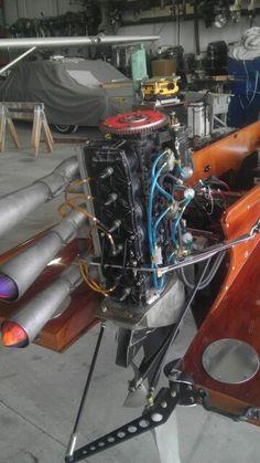 Modified mercury motor on a 1964 Jones hydro