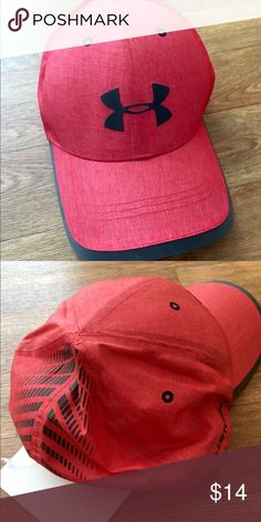 🆕Under Armour Run Cap Adjustable velcro closure. Very lightweight and water resistant. Under Armour Accessories Hats