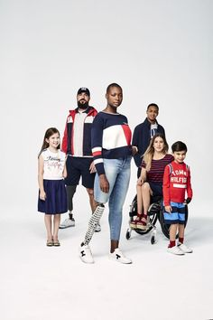 In the spring of 2016, Tommy Hilfiger launched a collection of clothes for Kids specifically designed for those with disabilities. Instead of buttons, there were clever hidden magnetic closures. #acceleratefashion #acceleratetv