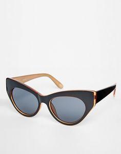 Enlarge ASOS Chunky Exaggerated Cat Eye Sunglasses