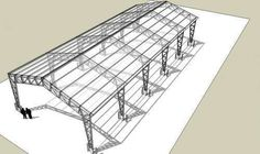 7 Brisk Tips AND Tricks: Tin Roofing Cottage roofing design white trim.Shed Roofing Barn roofing structure ideas.Shed Roofing Porch. Metal Garage Buildings, Steel Structure Buildings, Metal Structure, Steel Trusses, Roof Trusses, Terrace Building, Roof Truss Design, Warehouse Design, Steel Frame Construction