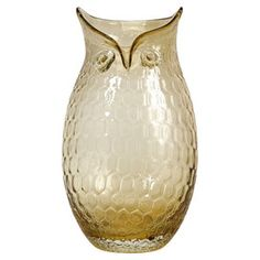 Ambra Owl Vase.<3