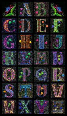 Alphabet   Celtic                                        by Caelitha on deviantART