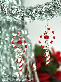 Mill Lane Studio: Candy Cane Swirls - Twelve Days of Christmas - Day 6