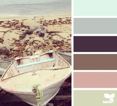 ashore tones, by design seeds Scheme Color, Colour Pallette, Colour Schemes, Color Combos, Design Seeds, Color Harmony, Color Studies, World Of Color, Color Swatches