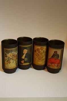 Barware Art Deco Glassware Impressionism by RomantiqueTouch, $4.00