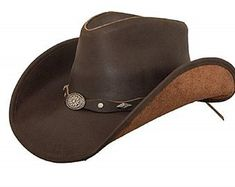 188abcb6 8 Best Leather Cowboy Hats We Love images in 2019   Cowboy hat ...
