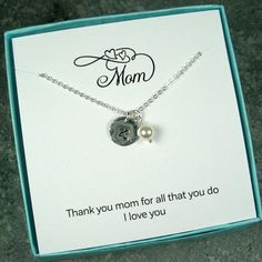 Personalized Mom Gifts Mom Jewelry Mothers by StarringYouJewelry