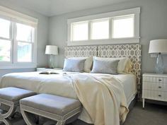 Pale Perfection - Beautiful Bedrooms: 15 Shades of Gray on HGTV