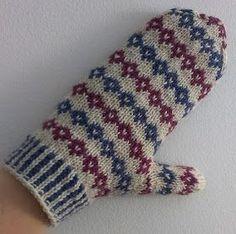 Lanka, puikot ja inspiraatio: Yksinkertainen on kaunista Knit Mittens, Mitten Gloves, Knitting Socks, Hand Knitting, Baby Suit, Fair Isle Knitting, Slipper Boots, Knitting Projects, Handicraft