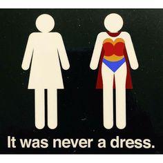 Happy #nationalwomensday! #womensday #women #woman #wonderwoman #powerwoman #womensfashion #design #infographic. It was never a #dress.