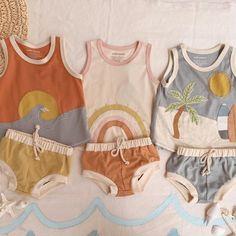 Baby Boy Fashion, Toddler Fashion, Toddler Outfits, Baby Boy Outfits, Kids Outfits, Kids Fashion, Neutral Baby Clothes, Cute Baby Clothes, Baby Boy Summer Clothes
