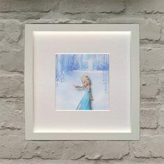 Disney Frozen Inspired Anna Effect Framed by BenjoCreations Disney Infinity, Winter Scenes, Disney Frozen, 3 D, Easter, Chocolate, Wall Art, Inspired, Frame