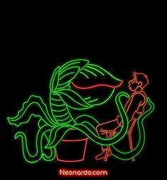 Animated Gif - Neon - Feed Me