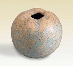 Yves Lambeau - Glaçures à cristallisations et nucléations sur pièces uniques en grès et porcelaine.