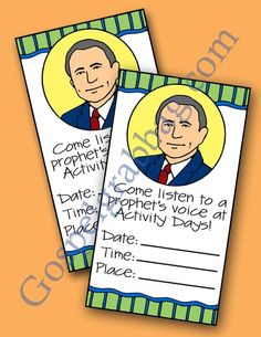 $1.50 - FOLLOW THE PROPHET: LDS Activity Days - Learning and Living the Gospel - Goal 4, read conference address, family home evening, gospe...