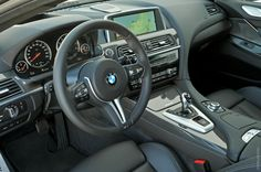 2012 BMW M6 Coupe. love the steering wheel