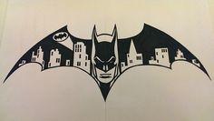 Mi heroe Art Sketches, Art Drawings, Im Batman, Batman Logo, Batman Artwork, Batman Tattoo, Cricut Air, Vinyl Projects, Vinyl Designs