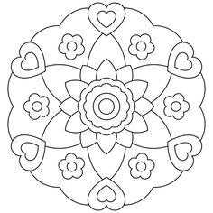 mandala lotus para colorir - Pesquisa Google