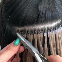 hair hair extensions This hair extension fit is so Micro Bead Hair Extensions, Hair Extensions Tutorial, Hair Extensions For Short Hair, Types Of Hair Extensions, Tape In Extensions, Luxy Hair, Hair Extensions Before And After, Natural Hair Styles, Short Hair Styles