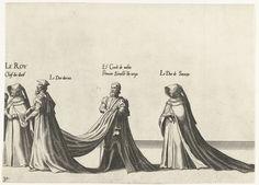 Deel van de optocht, nr. 30, Joannes van Doetechum (I), Lucas van Doetechum, Hieronymus Cock, 1559