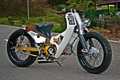 HONDA C70 RAT ROD
