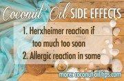 Coconut Oil Side Effects
