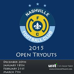 Semi Pro Soccer In Tennessee. Nashville FC 2015 Open Tryouts   NPSL. US Soccer Talent. Soccer trials in North America